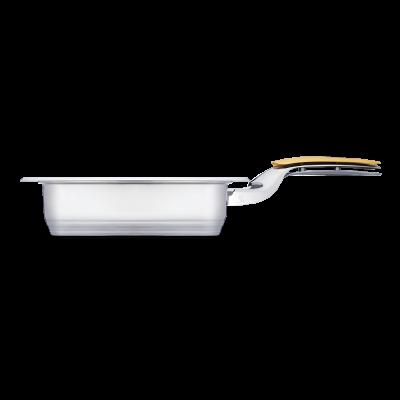 Гриллер Zepter QD с одной ручкой, с крышкой 1,8 л, 19х19 см, высота 5 см