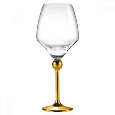 Магическая Гармония - бокалы для белого вина с позолоченными ножками, 6 шт.