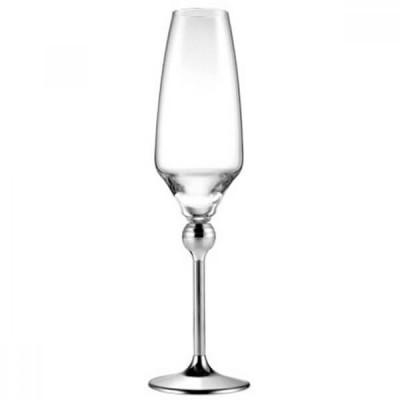 Магическая Гармония - бокалы для шампанского со стальными ножками, 6 шт.