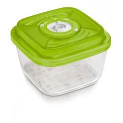 Стеклянный контейнер квадратный малый 15x15x8 см - 1,1 л