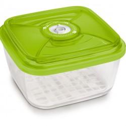 Стеклянный контейнер квадратный большой 22х22х10,5 см - 3,6 л