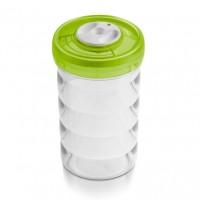 Емкость цилиндрическая средняя пластиковая, d11см, выс.19,5 см -1,25 л