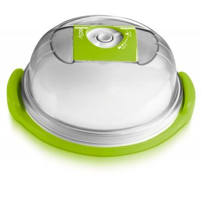 Сырница/Емкость для тортов круглая малая, d 19 см, высота 11см - 1,6 л