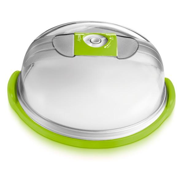 Сырница/Емкость для тортов круглая большая, d28см, высота 14см - 4,7л