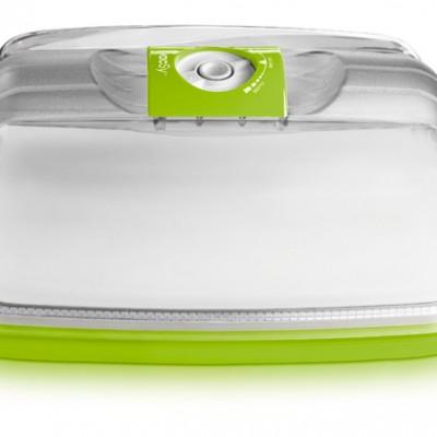 Сырница/Емкость для тортов прямоугольная, 30х22х15 см, 5,2 л