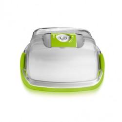 Сырница/Емкость для тортов квадратная 22х22х13 см - 3,4 л